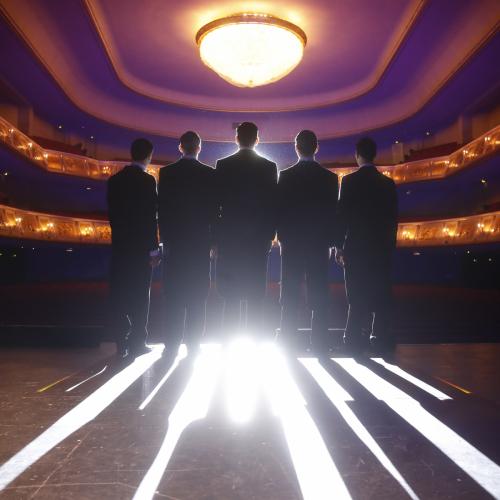 Comedian Harmonists (Bagdsar Khachikyan, Florian Peters, Jendrik Sigwart, Emanuel Jessel, Jacoub Eisa)