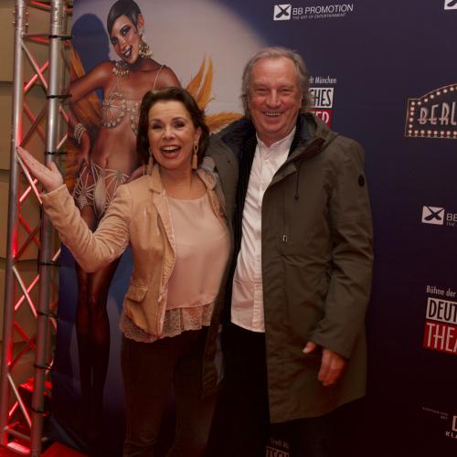 Schauspielerin Petra Drexler mit Partner