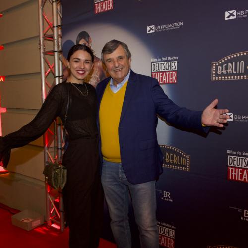Gastronom Peter Pongratz mit Tochter