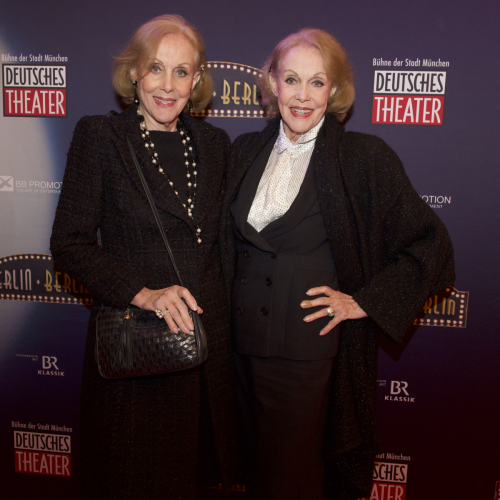 Schauspielerinnen Alice und Ellen Kessler