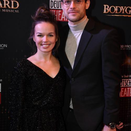 Model Darya Gritsyuk und Schauspieler Philip Birnstiel