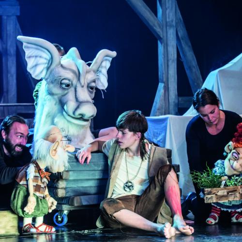 Jan Herrmann, Tristan Witzel, Oscar Kafsack, Andrea Brunetti © Actors Photography