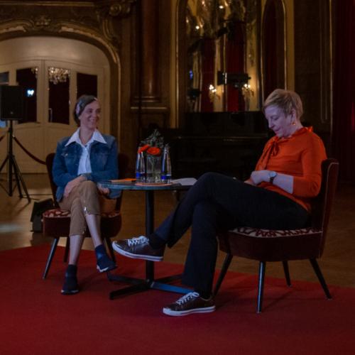 Filmgespräch zu DER WILDE WALD mit Regisseurin Lisa Eder, moderiert von Astrid Schilling (Katholische Akademie München)