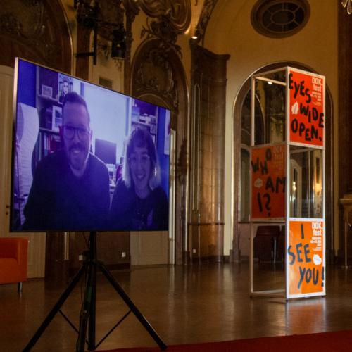 Filmgespräch zu THE LAST HILLBILLY mit den Regisseur.innen Diane Sara Bouzgarrou und Thomas Jenkoe, moderiert von Roderich Fabian (BR2 Zündfunk)
