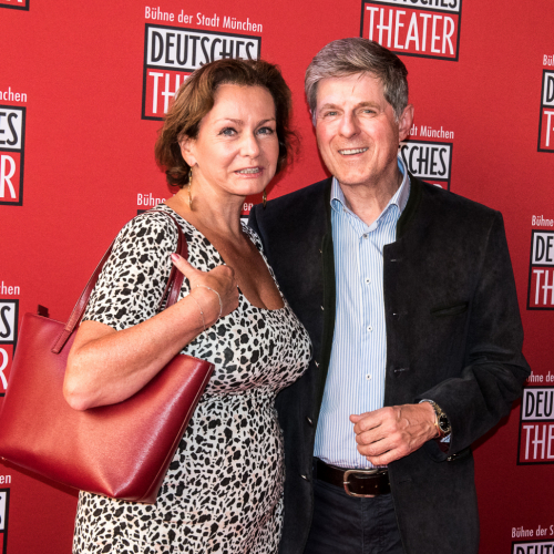 Schauspieler Horst Kummeth mit Ehefrau Eva
