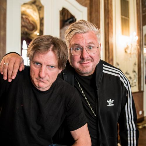 Die Knechte Norbert Bürger und Moses Wolff.
