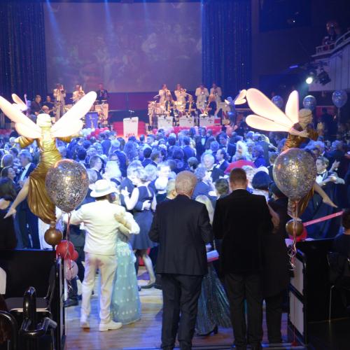Das Orchester Klaus Ammann sorgte immer für eine volle Tanzfläche.