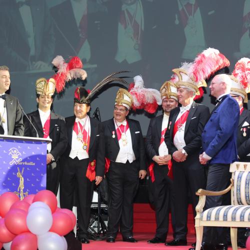 Ministerpräsident Markus Söder bei seiner Dankesrede.