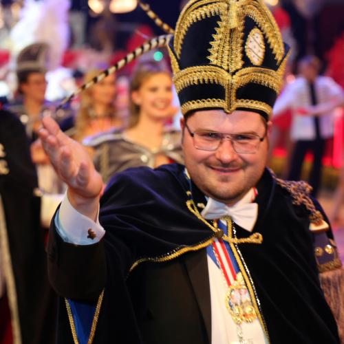Ex-Prinz und Narrhalla-Funktionär Sebastian Kriesl.