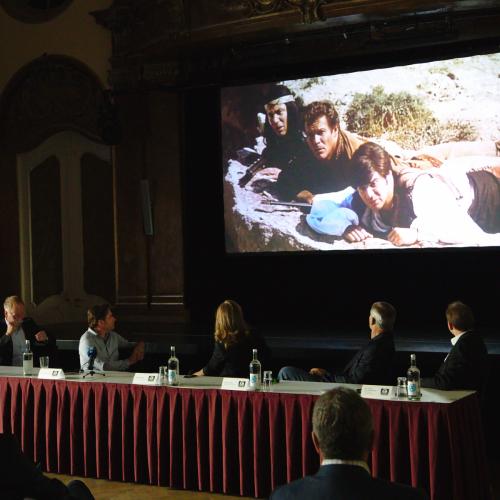 Zur Einstimmung wurde der Trailer zum Kultfim gezeigt.