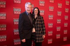 Narrhalla-Vizepräsident Günter Malescha und Ehefrau Christine