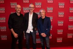 Die Haindling-Musiker Wolfgang Gleixner, Reinhold Hoffmann und Michael Ruff