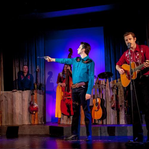 Die Darsteller David M. Lutken, Morgan Morse und Sam Sherwood © Susanne Brill