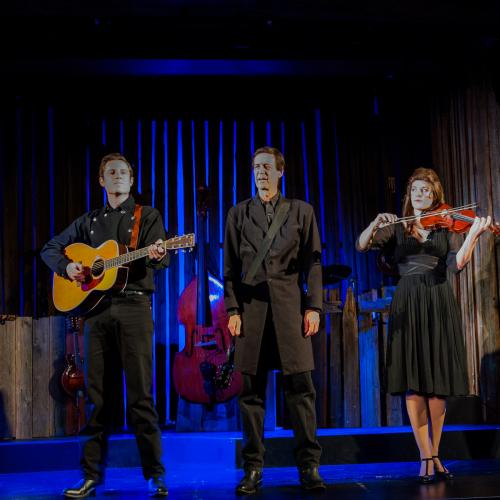 Die Darsteller Sam Sherwood, David M. Lutken und Margaret Dudasik © Susanne Brill