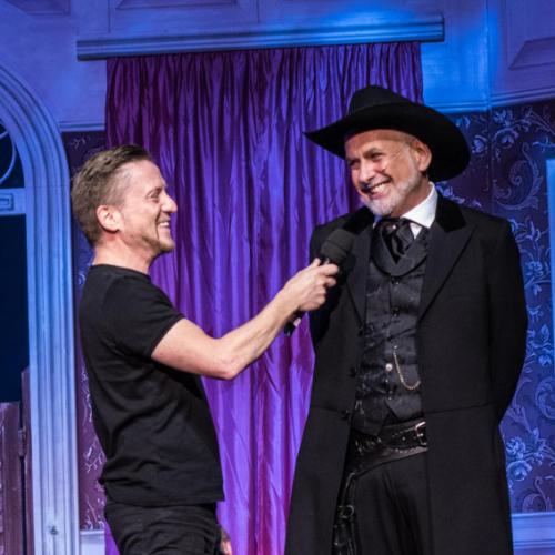 Andreas Gergen mit Hans Neblung © Susanne Brill