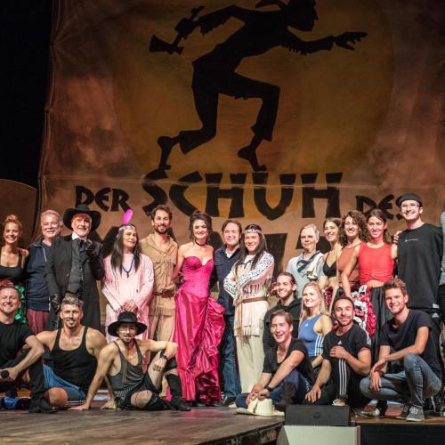 Die Cast mit Michael Bully Herbig © Susanne Brill