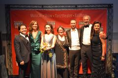 Von links: Galeano Salas, Carmen Bayer, Eugenia Dushina, Annette Josef, Michael Balke, Werner Steer, Marion Rüb