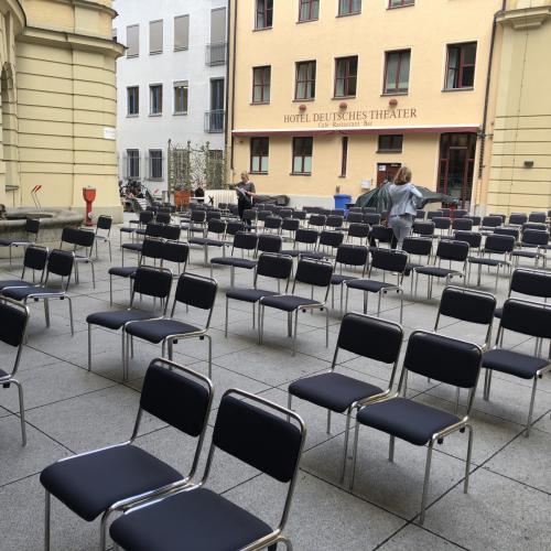 Innenhof des Deutschen Theaters © Deutsches Theater
