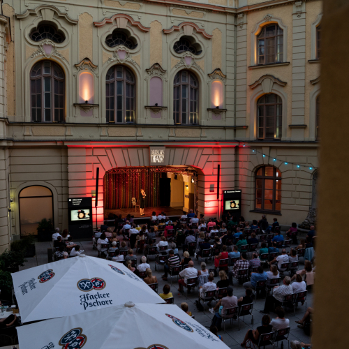 Innenhof Deutsches Theater © Rico Güttich/ muenchen.de