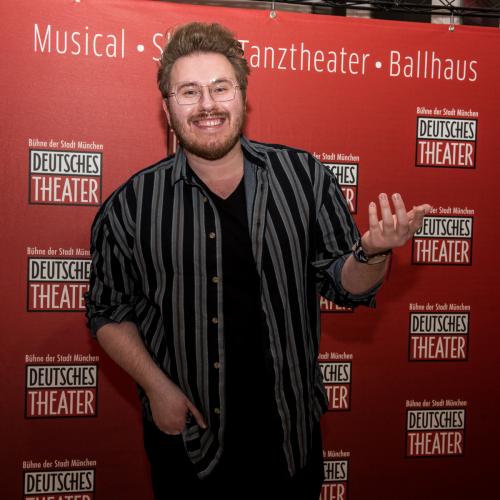 Musical-Darsteller Florin Hüttner