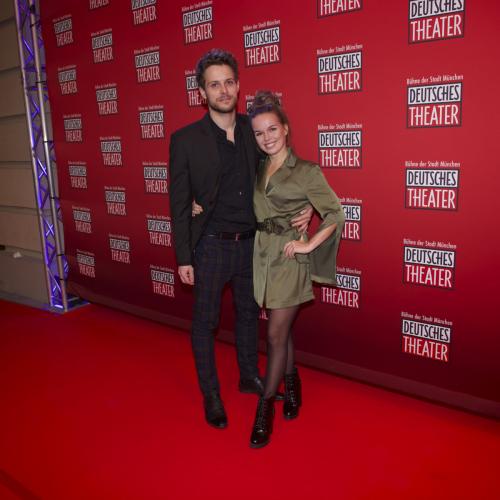 Schauspieler Philip Birnstiel und Model Darya Gritsyuk