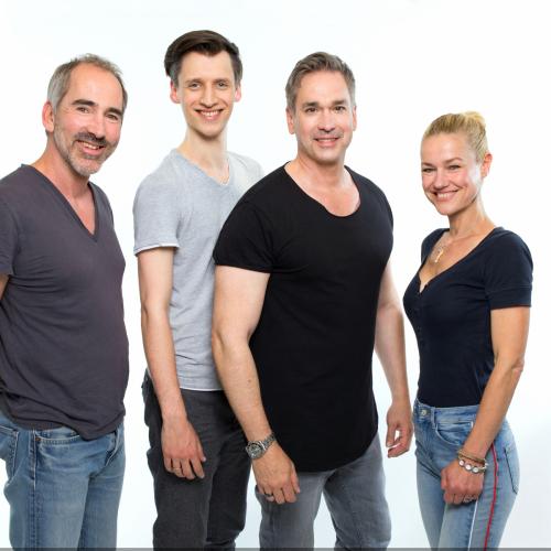 Sprecher Sascha Draeger, Tobias Diakow, Manou Lubowski & Rhea Harder-Vennewald © Stefan Hoyer