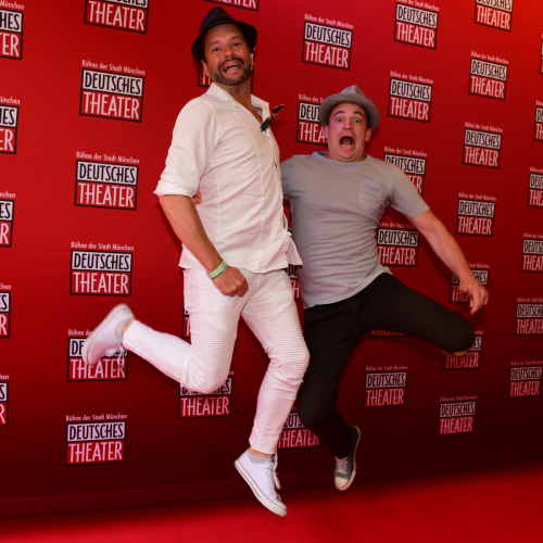 DJ Micar und Moderator Tom von der Isar